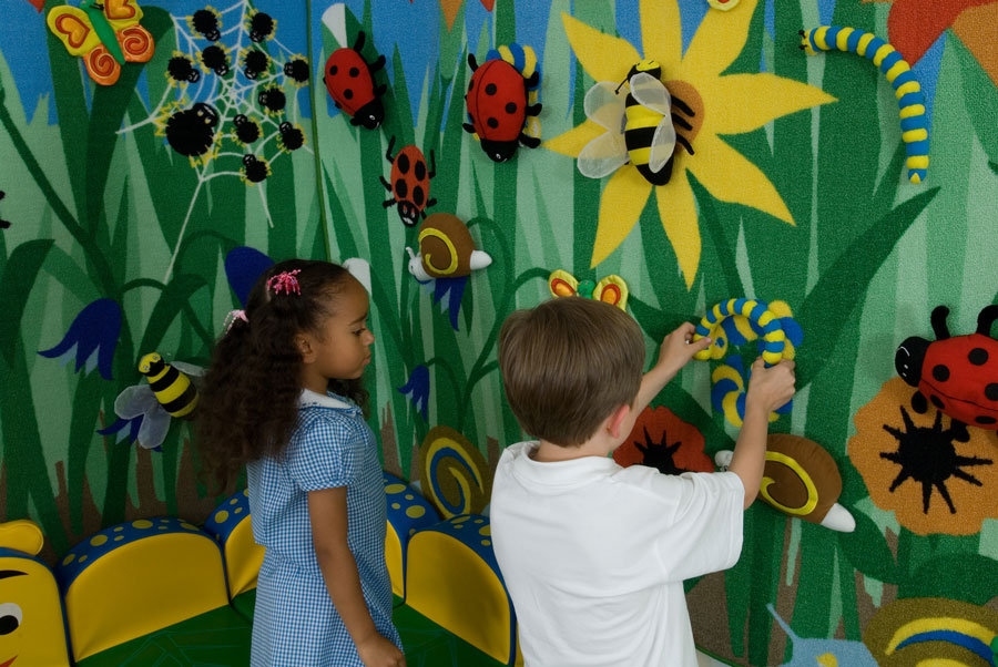 Back To Nature Interactive Children S Wall Display